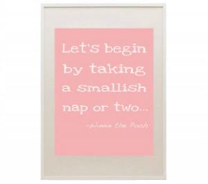 Let's take a nap