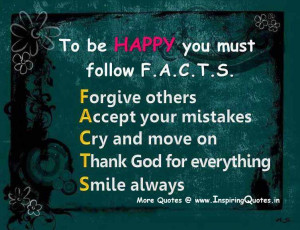 Steps to be Happy in life Quotes, How to Live Happy Life Thoughts ...