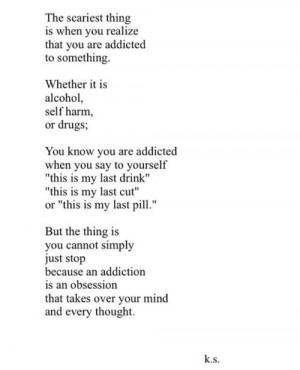 quote depressed depression sad suicidal suicide drugs alcohol self ...