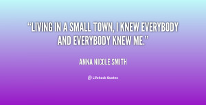 Quotes About Small Town Living