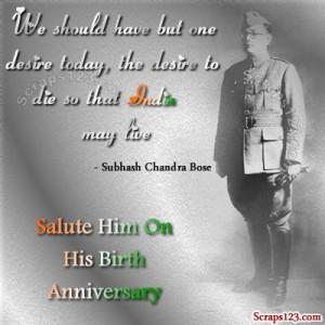 january 23 is his birth anniversary subhashchandra bose was the most ...