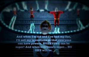 Syndrome- The Incredibles