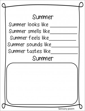 Kid Poems About Summer