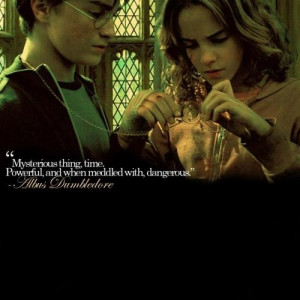Harry Potter Time Quote