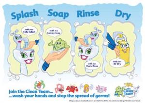 printable hand washing signs for kids