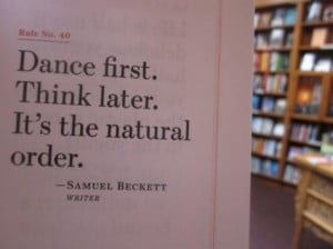 Quote from Samuel Beckett