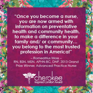 Nurses - you have what it takes to make a difference!