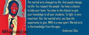 Anderson Silva: Martial Arts changed my life