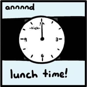 Lunch Break Funny Lunch break