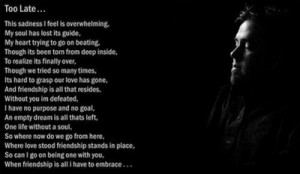 Broken Friendship Poems That Make You Cry Sad broken friendship poems