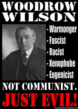 Woodrow Wilson Was Not A Communist by BlameThe1st