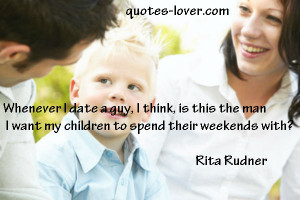 Mother Children Quotes Picture quote by rita rudner