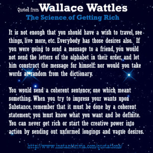 More Wallace D Wattles Quotes