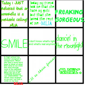 Green quotes - Polyvore