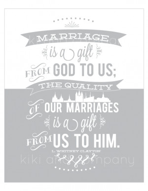 It is one thing to be married. It is quite another to make it a good ...