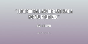 football girlfriend quotes