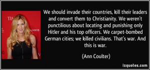 More Ann Coulter Quotes