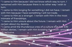 ... remain with Him certain about my destiny. Ravi Zacharias #quote More