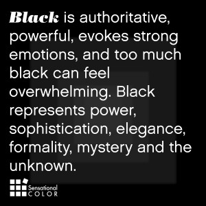 Meaning Of The Color Black