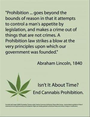 End marijuana prohibation laws...its way over due...