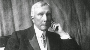 No obstante, el mayor de los barones ladrones fue JD Rockefeller ...