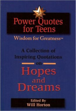 Power Quotes for Teens Wisdom for Greatness: A Collection of Inspiring ...