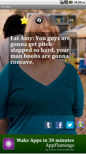 View bigger - Fat Amy Quotes for Android screenshot