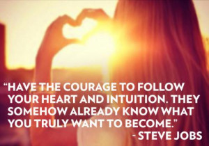 Sharing nice quotes from the Net (Steve Jobs quotes)