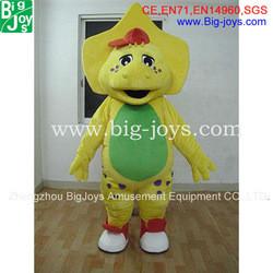 Cute baby dinosaur mascot costume, funny animal costume