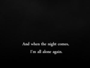 ... depressed sad quotes alone broken night dye all alone fr3akyfr1day