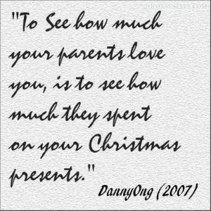 Quotes much you love your parents