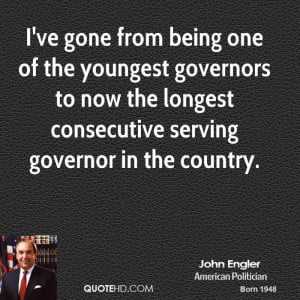 ve gone from being one of the youngest governors to now the longest ...