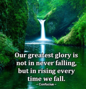 waterfall #lush #quote #inspire