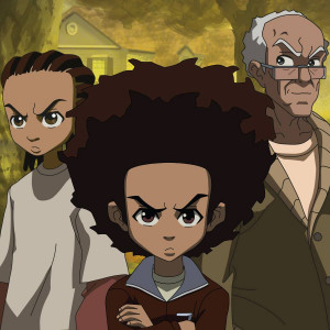 ... riley-freeman-left-huey-freeman-center-and-robert-granddad-freeman