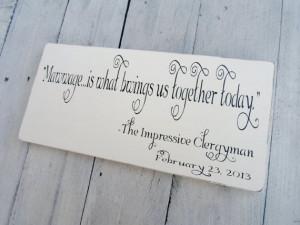 The Princess Bride quote wedding sign