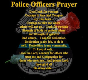 Police Officer Prayer