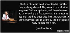 Children Course Don...
