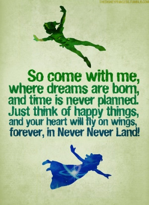 absolutely love love love Peter Pan