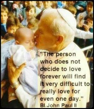 Blessed John Paul. Catholic