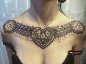 Chest Tattoos For Women – Designs and Ideas