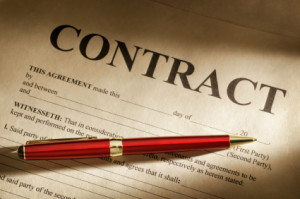 where does contract law fit within the law contract law