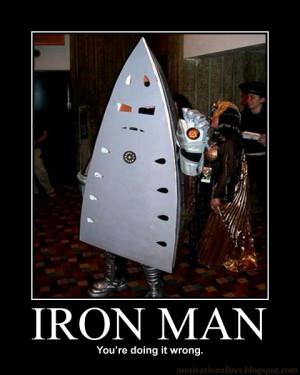 Iron Man Motivational Poster