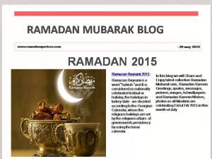 Ramadan Mubarak Quotes 2015