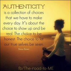 brene brown authenticity quotes - the beauty of this is~ we do this ...