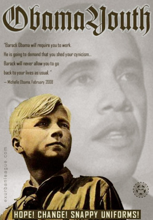 Remember the Hitler Youth? Introducing Obama's Homeland Youth