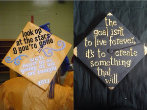 Rant and Diary Graduation Caps