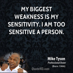 Mike Tyson Funny Quotes