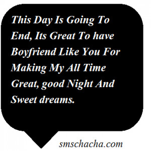 Good Night Sms For Boy Friend