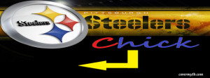 Steelers Chick Facebook Cover