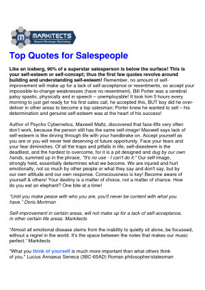 Top Sales Quotes & Tips by monkey6
